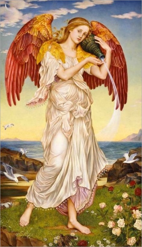 Eos by Evelyn De Morgan