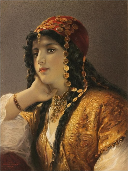 Gustav Karl Ludwig Richter (german, 1823-1884)- Odalisque