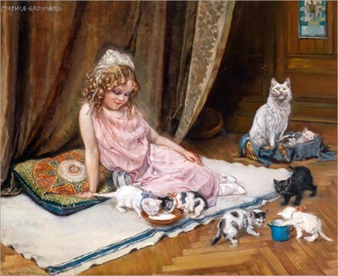 Hedwig Mechle-Grossmann (german, 1857-1928)