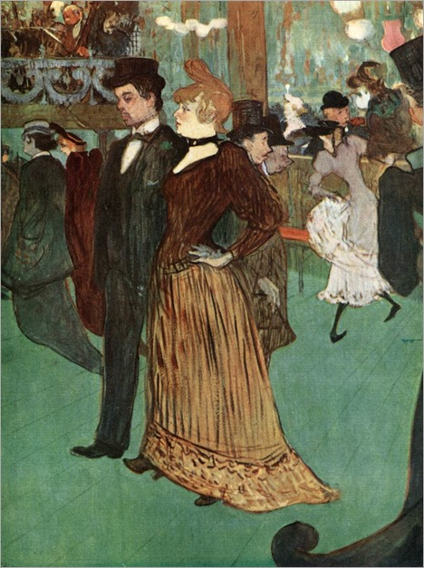 Henri de Toulouse-Lautrec, At the Moulin Rouge or The Promenade, 1891