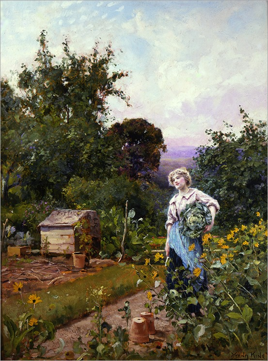henry_john_yeend_king_a2019_cabbage_gatherer