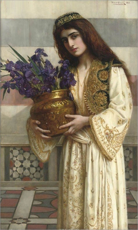 Herbert Gustave Schmalz-Carmichael - Flowers of the Levant 1900
