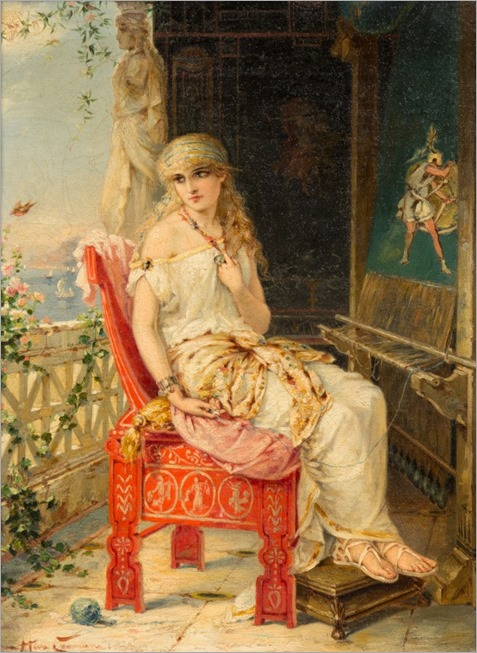 Heva_Coomans_-_Penelope_awaiting_Odysseus