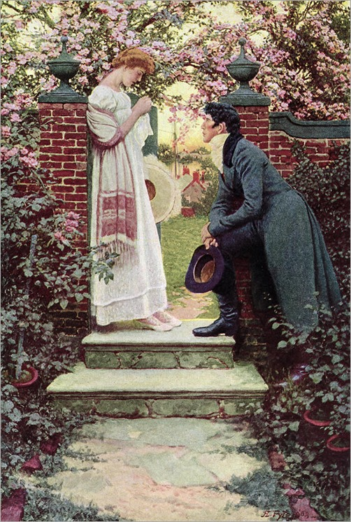 Howard Pyle (1853-1911) - When all he world seemed young
