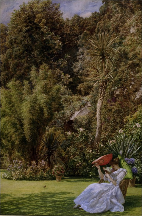 In a Garden (1891). Edward John Poynter (English, 1836-1919)
