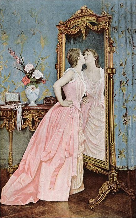in-the-mirror-auguste-toulmouche