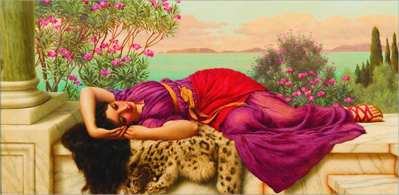 John William Godward(British, 1861-1922)Dolce far Niente