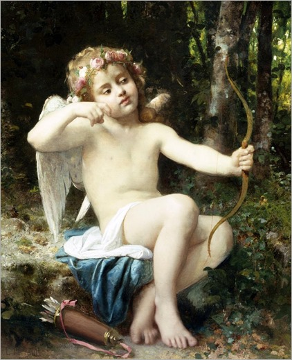 Leon Bazile Perrault (1812-1908) Cupid's Arrows