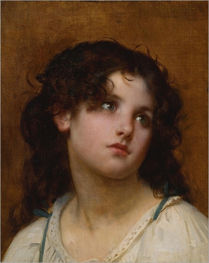 LÉON-JEAN-BASILE PERRAULT - Portrait of a young child