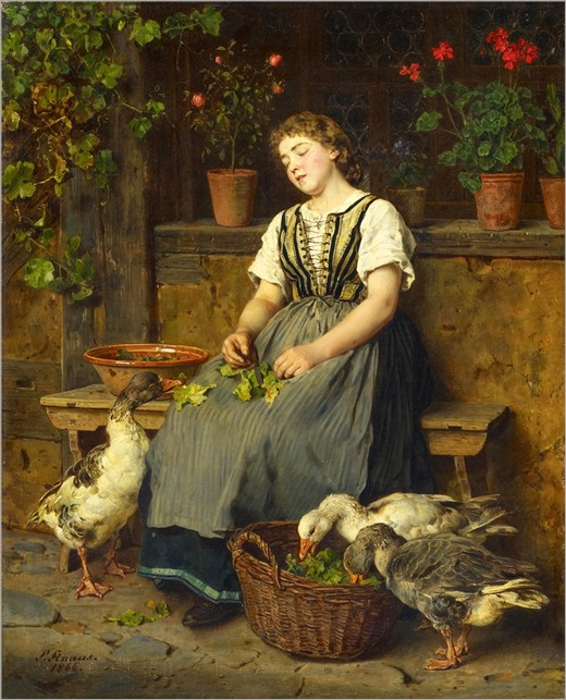 LUDWIG KNAUS (GERMAN 1845-1933)