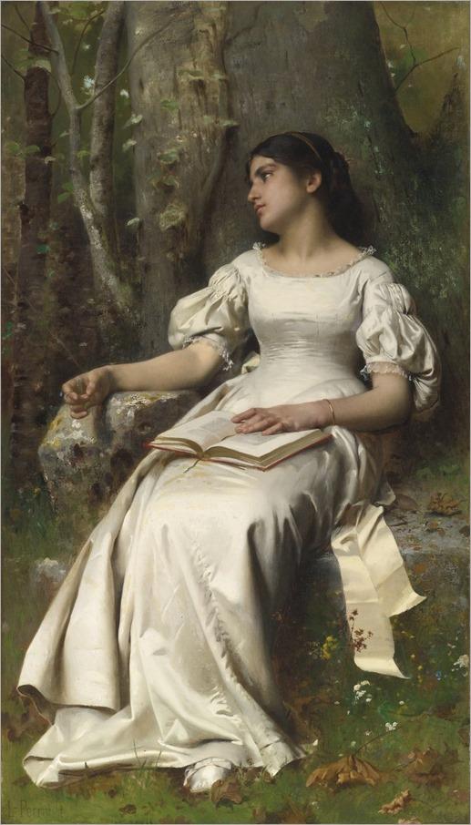 Meditation (1893). Léon-Jean-Basile Perrault (French, 1832-1908).