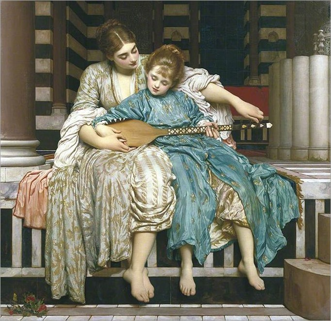 Music_Lesson_by_Lord_Frederic_Leighton