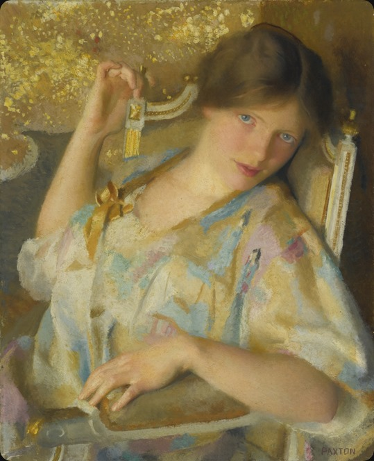 Nonchalance. William McGregor Paxton (American, 1869-1941)
