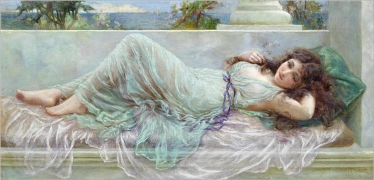 NORMAN PRESCOTT-DAVIES (BRITISH, 1862-1915)