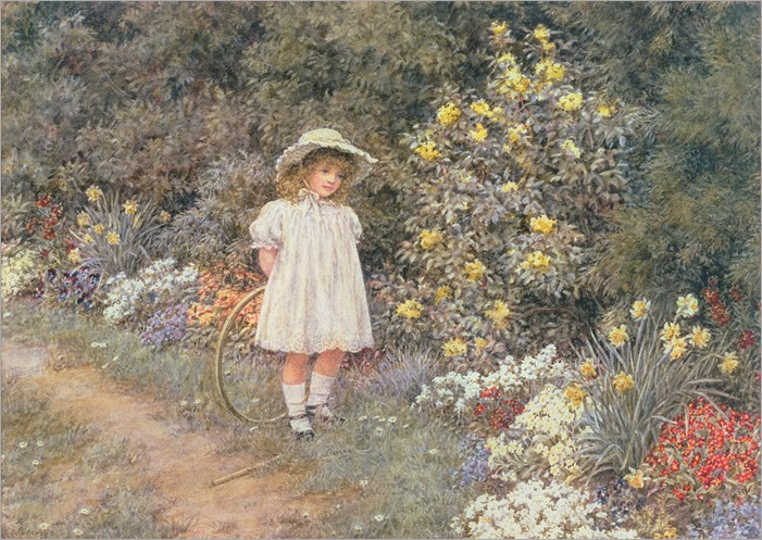 pause-for-reflection-helen-allingham