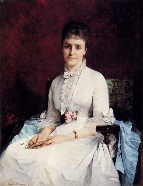 Portrait of a Lady (1877). Henriette Browne (French, 1829-1901)