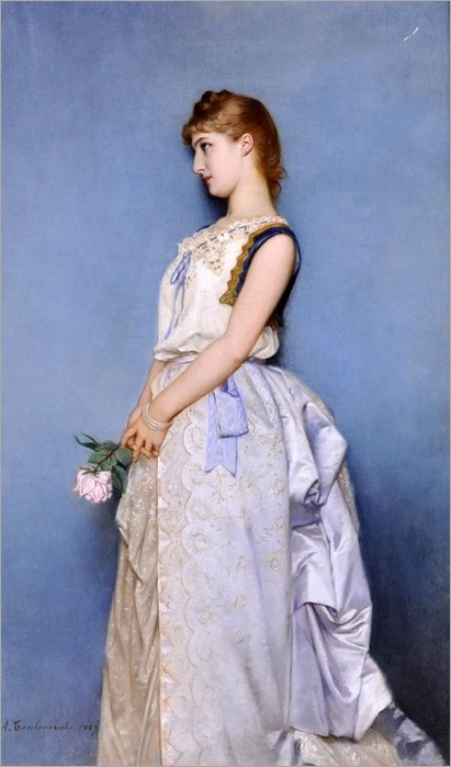 sweet memories-Auguste Toulmouche