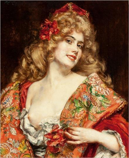 the courtesan, russian_camillo melnick (austrian, born 1862)