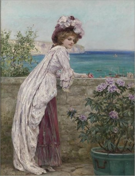the english rose_Henry John Yeend King (english, 1855-1924)