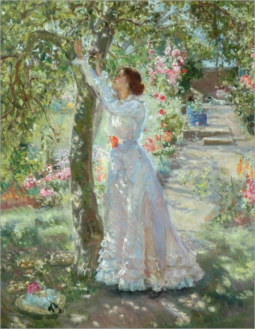 The Garden - Ethel Walker (english painter)