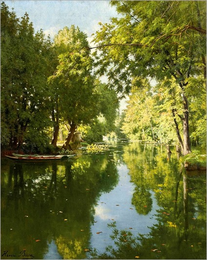 12.Henri Biva (french, 1848-1928)