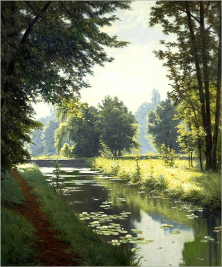 13.Henri Biva (french, 1848-1928)