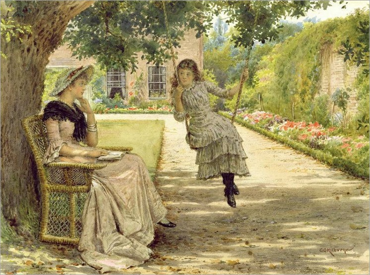 2George Goodwin Kilburne(1839-1924, English)