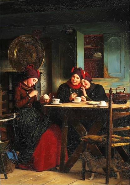 4.JOHANN JULIUS EXNER (DANISH, 1825-1910)