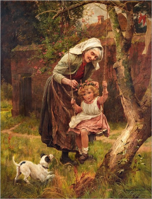 5.GEORGE HILLYARD SWINSTEAD (BRITISH, 1860-1926)