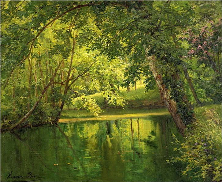 6.Henri Biva (french, 1848-1928)