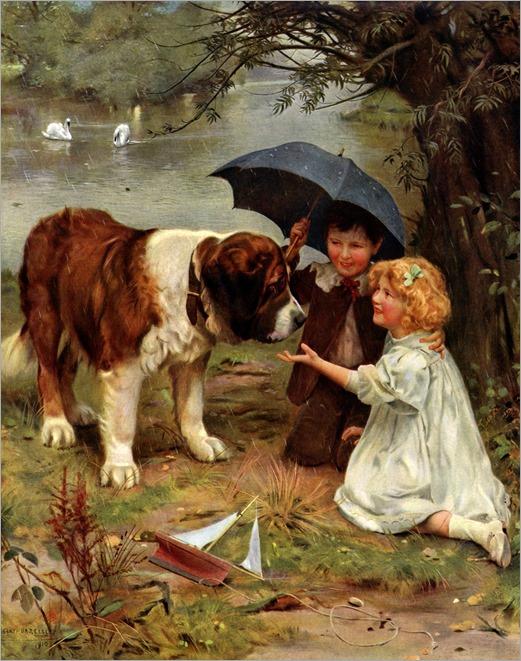 7Arthur John Elsley (british, 1860-1952)