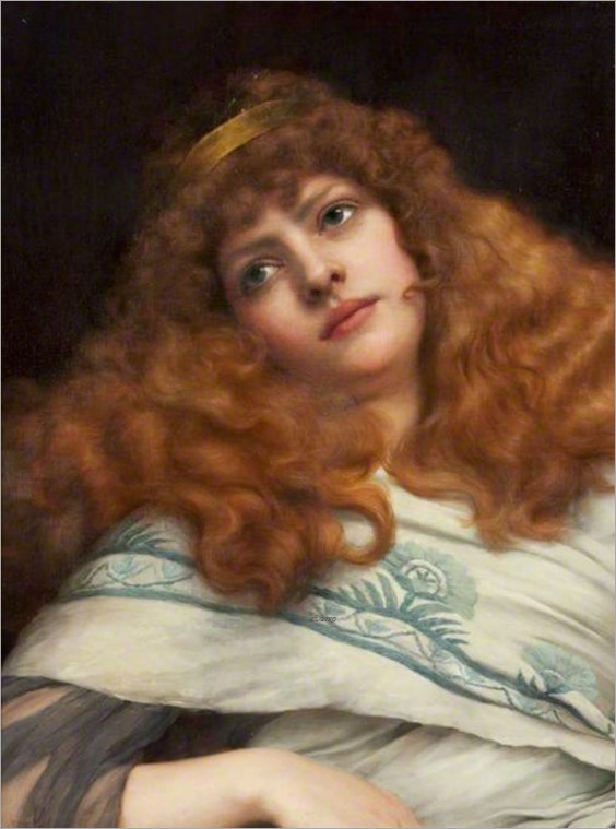 A Lady-John William Godward