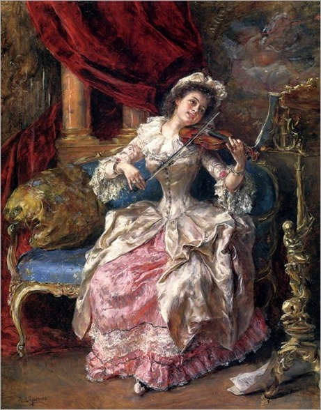 A Musical Afternoon. Eduardo León Garrido (Spanish, 1856-1906)