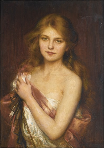 a young beauty_Albert Lynch