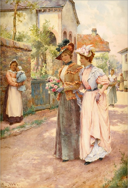 ALFRED AUGUSTUS GLENDENING, JNR (BRITISH 1861-1907)-