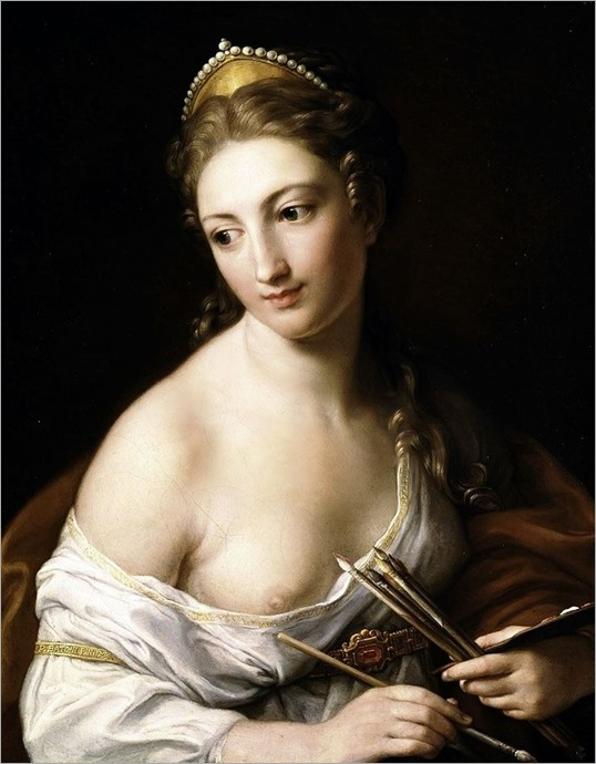 Allegory of Painting. Pompeo Giralamo Batoni (Italian, 1708-1787). Oil on canvas