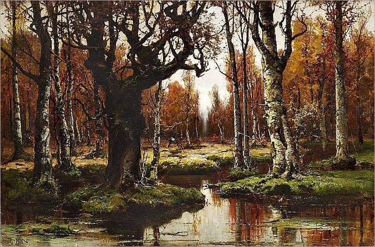 Autumnal Landscape_Julius Klever-1881