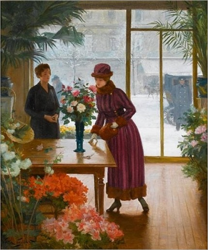 Buying_flowers_Victor_Gabriel_Gilbert