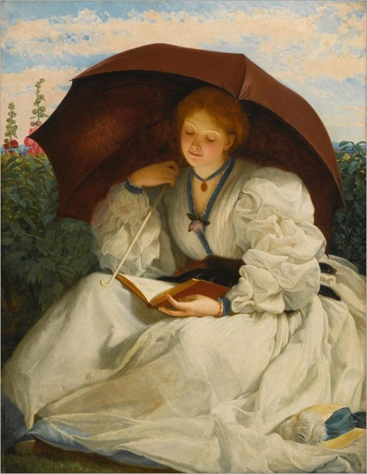 CHARLES EDWARD PERUGINI _ Reading on a Sunny Afternoon