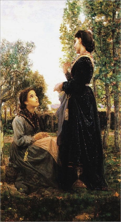 Cristiano Banti - Confidenze, 1868