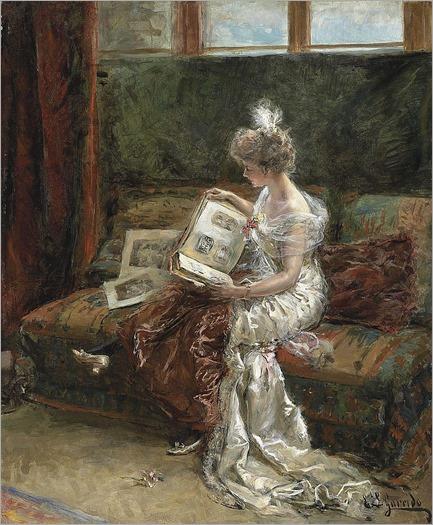 Eduardo-Leon Garrido (Spain, 1856-1949) Leonie Garrido, the artist's wife