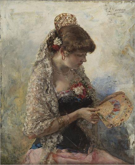 EDUARDO LEON GARRIDO (SPANISH 1856-1949)La Condesa