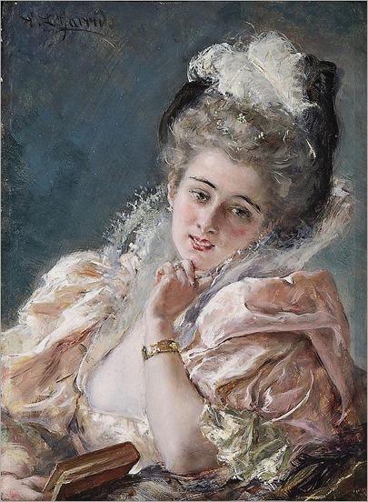 Eduardo Léon GARRIDO (1856-1949)Elégante