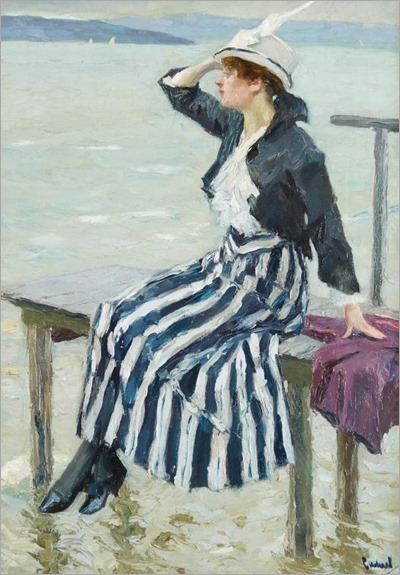 EDWARD CUCUEL (german-american 1879-1954) - EAST WIND