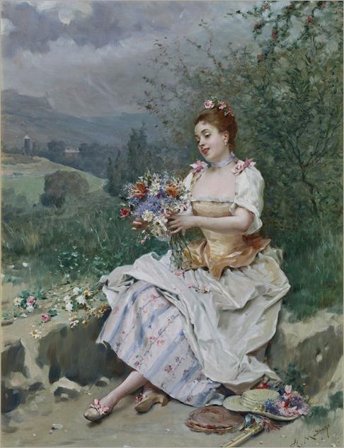 el bouquet-Raimundo de Madrazo
