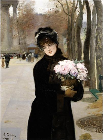 Ernest Ange Duez (French, 1843-1896) Une Parisienne