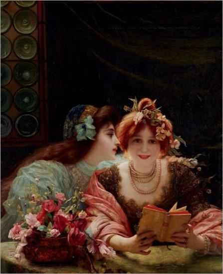 Gabriel Joseph Marie Augustin Ferrier (1847 - 1914) - La lecture