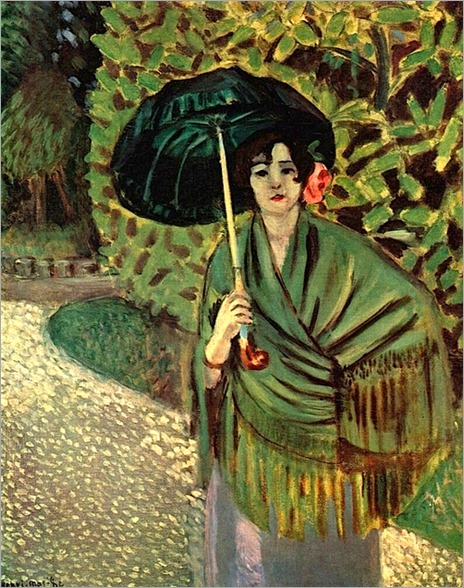 Henri Matisse, Woman with umbrella, 1920