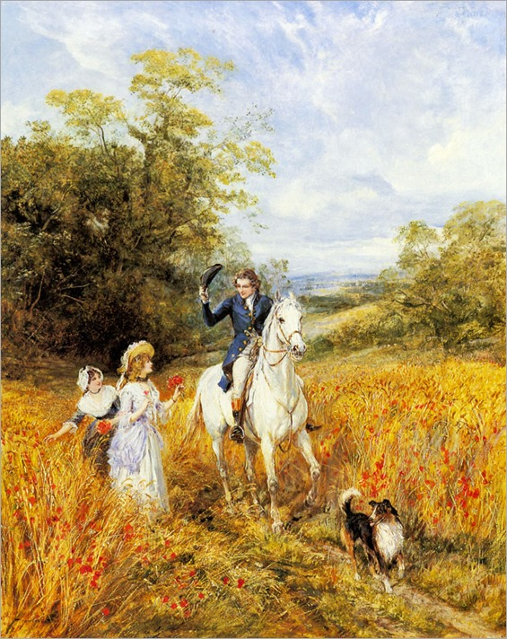 Heywood Hardy - The Morning Ride