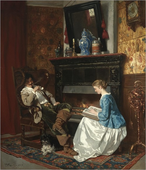 Karl (Ludwig Friedrich) Becker; 1820—1900)